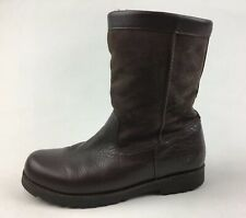 UGG Australia 3296 Riverton kid youth winter Ankle Boots Sz 5, Brown Suede 2042