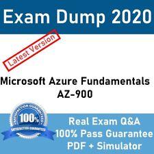 Microsoft Azure Fundamentals AZ-900 Real Exam Q&A + Simulator Instant Delivery✔