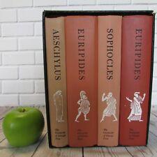 Complete Greek Tragedies 1959 Box Set HC University of Chicago Lattimore Grene