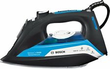 Bosch TDA5080GB Steam Iron DA50 Sensor Secure Auto Shut Off 3000W Black/Blue New