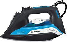 FERRO da stiro a vapore tda5080gb BOSCH da50 Sensore sicuro spegnimento automatico 3000w Nero/Blu Nuovo