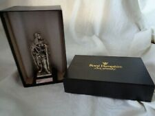 GEORGE I - ROYAL HAMPSHIRE - PEWTER FIGURE (11.5cm) - ON PLINTH - WITH BOX -