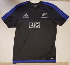 New Zealand Rugby All Blacks Jersey Sz. Medium - Adidas - World Cup purple