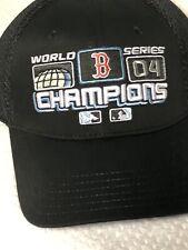 e3ce6b480ed8a Boston Red Sox 2004 World Series Champions New Era Official Locker Room Hat  Cap