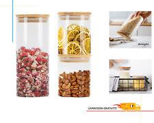 3200 ml Grand Plastique sphérique Sweet//Cookie bocaux avec RED CAPS annonce 1-6