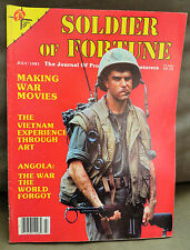 Soldier of Fortune Magazine- July 1981, Rare, Antique Back Issue