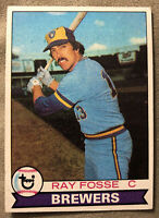 1979 Topps Ray Fosse Baseball Card #51 Brewers Low-Grade