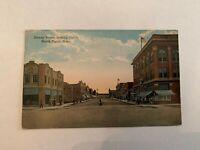Vintage Dewey Street Looking North North Platte Nebraska Postcard