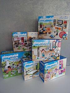 Playmobil City Life (Modern House) - for Selection - Nip
