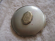 Vintage Compact with Lots of Compartments Figure Drinking Wine