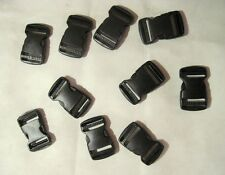 "High Quality 1.5"" Fastex Side Release Buckle Black (10 Sets)"
