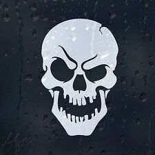 Skull Car Decal Vinyl Sticker