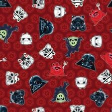 Camelot Cottons Angry Birds Star Wars 73300106 1 Red Heads Cotton Fabric