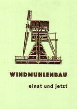 Mühlenaerodynamik, Strömungslehre & -forschung, Windrad Windkraft Windmühlenbau