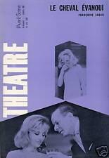 AVANT-SCÈNE N°382 [1967] LE CHEVAL ÉVANOUI PAR F. SAGAN