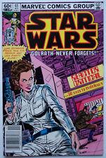 Star Wars #65 -197 00004000 7 Marvel Series, Leia Cover, Vf Comic