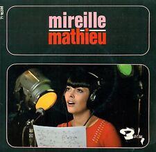 """MIREILLE MATHIEU 7"""" ADIEU LA NUIT POUR UN COEUR SANS AMOUR QUAND ON RETURNS B646"""