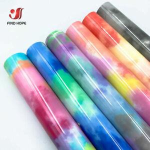 Cloud Rainbow Heat Transfer Vinyl Tie Dye Making Sign Iron on Heat Press T shirt