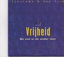 Fluitsma&Van Tijn-Vrijheid cd single