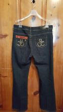 Rocawear women's jeans dark wash boot cut size 16