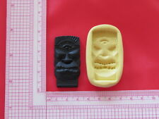 Tiki Hawaii Pedestal Silicone Mold A851 For Craft Chocolate Resin Clay Candy
