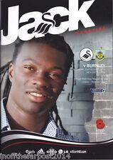 2014/15 SWANSEA CITY V BURNLEY 23-08-2014  Premier League (Mint)