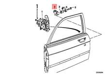 Genuine BMW M1 114 E12 E21 E23 E24 E26 E28 E3 E9 NK 1502 Bump Stop 51211823487