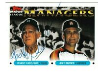 1993 Topps Sparky Anderson Autographed Card - Detroit Tigers TTM - #506