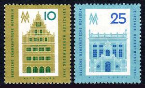 Germany DDR/GDR 568-569, Mint. Historical Buildings, Leipzig, 1961