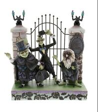 Disney Haunted Mansion Hitchhiking Ghosts Gargoyles Jim Shore Figurine NIB GIFT