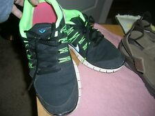 Nike Running Shoes size 11  neon/black  579959043
