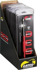 "Gatco Diamond Carbide Sharpener D.C.S. Aluminum Handle Red 9 1/2"" Long - 12 Pack"