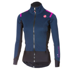 Castelli Alpha Ros Rain or Shine Women's Long Sleeve Cycling Jersey Small