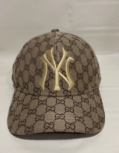 New York NY Yankees MLB Hat Brown Logo In Gold One Size New