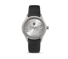 Original BMW Armbanduhr Edelstahl Damen Mineralglas Lederarmband UPE: 165,00 €