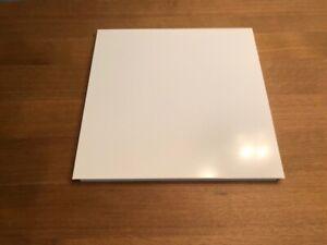 1 von 8 USM Haller Tablar in Reinweiß RAL 9010 Systemdimensionen 35 x 35 cm Neu