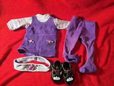 Amazing Ally Doll Purple Outfit with Black Mary Jane Shoes