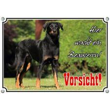 Hundeschild - Beauceron - Qualitätsdruck auf Metall