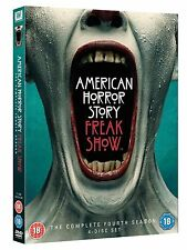 AMERICAN HORROR STORY Freakshow Stagione 4 BOX 4 DVD in Inglese NEW .cp