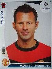 Panini 81 Ryan Giggs Manchester United UEFA CL 2009/10