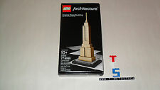 Retired 2009 Sold Out New Sealed LEGO Architecture 21002 Empire State Building
