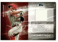 2020 Topps Series 1 Jersey/Patch Major League Material Nick Senzel
