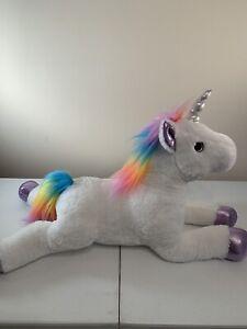 """Aurora - Super Flopsie - 27"""" Rainbow Unicorn"""