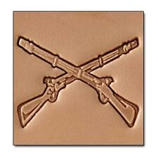 Rifles  Craftool 3-D Stamp Tandy Leather 8688-00