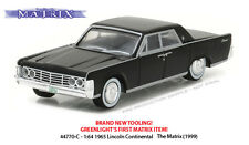 GREENLIGHT 1/64 HOLLYWOOD #17 THE MATRIX 1999 1965 LINCOLN CONTINENTAL 44770-C