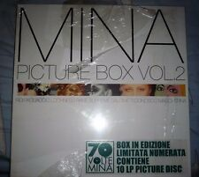 vinili cd Mina LP VINILI Picture Box Vol. 2 nuovo sigillato cop. n. 376/500