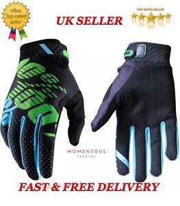 New 100% Cycling Motorcycle Racing Riding Motorcross Bike MTB Black/Green/Blue