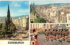 uk8778 edinburgh  scotland  uk music piper drum soldier military
