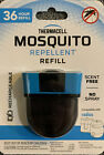 Thermacell Mosquito Repellent Refill Rechargeable 36 Hours ER136 Scent Free