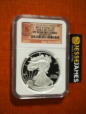 2012 S PROOF SILVER EAGLE NGC PF70 ULTRA CAMEO EARLY RELEASES FROM SAN FRAN SET